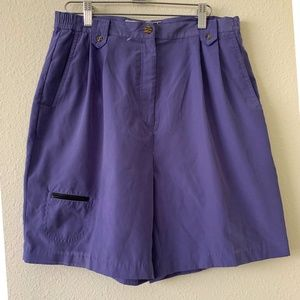 Jamie Sadick Purple Golf Shorts